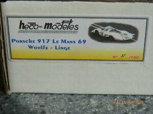 Heco Modeles Porsche 917 - Le Mans 1969 Woolfe-linge Édition Limitée