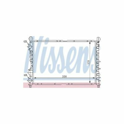 engine cooling Nissens 60035 Radiator
