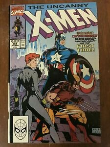The-Uncanny-X-Men-268-Marvel-Sept-1990-Jim-Lee-Captain-America-Black-Widow