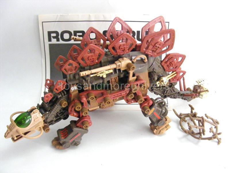 Zoids Zoid Vintage ROBO STRUX Complete 1986 GORDOX 100% Complete STRUX + Sheet HTF VERY RARE e6e292