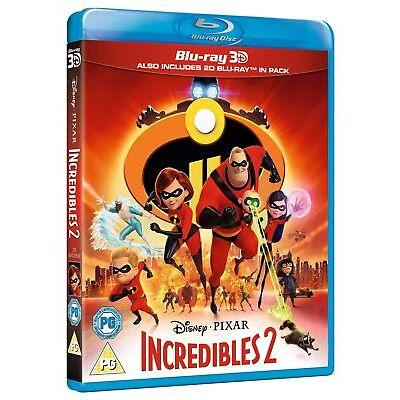 Incredibles 2 (3D + 2D +  Bonus Disc) [Blu-ray]