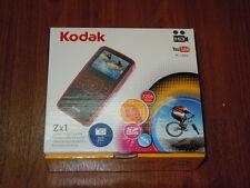 New in Box - Kodak Zx1 Edition 128 MB Pocket Camcorder  - BLUE - 041778364567