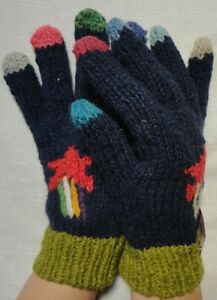 NEW ARTISAN HAND KNITTED GLOVES HIGH QUALITY ALPACA AND SHEEP WOOL ANDEAN