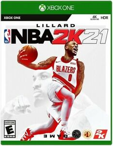 NBA 2K21 Xbox One 4K Ultra HD HDR Brand New Factory Sealed Ships Now