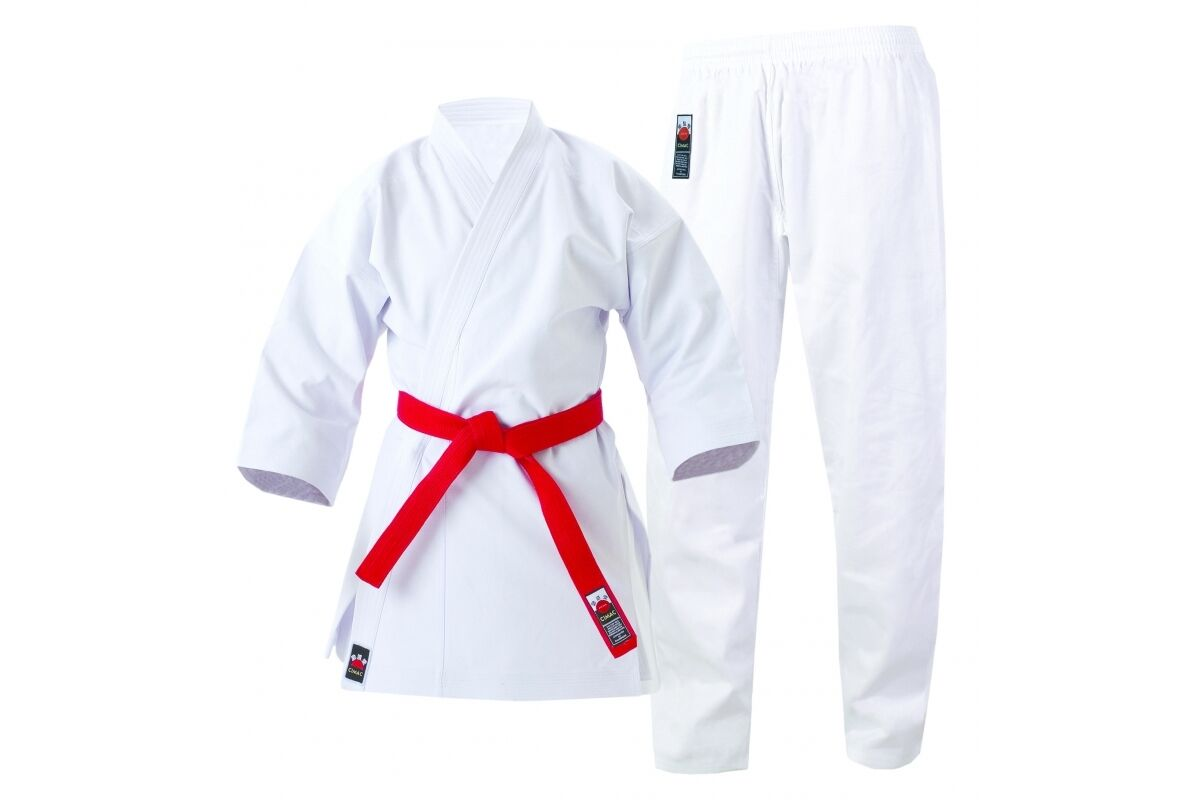 Cimac Tournament Heavyweight Karate GI 14oz Suit Adult Mens Womens White Uniform