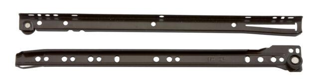 coppia guide per cassetti scorrevoli in acciaio bianco 60 cm guida cassetto