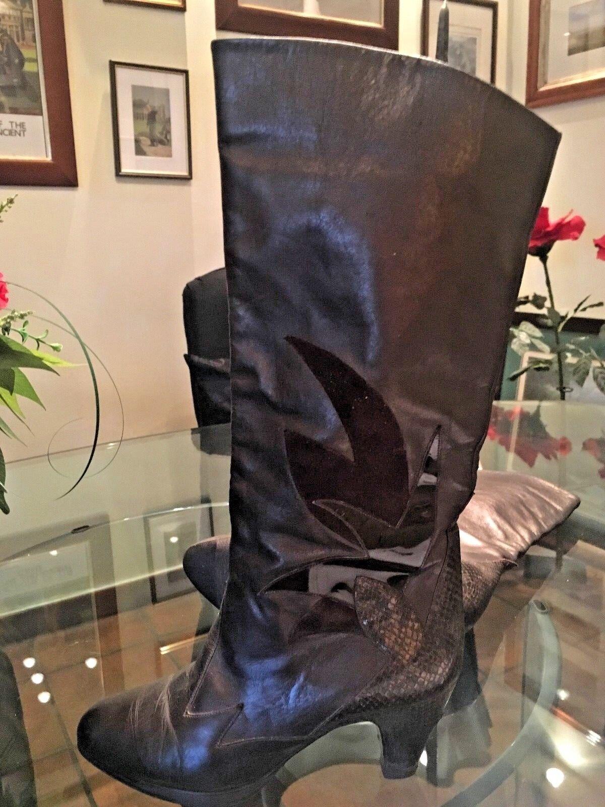 Tamaris Stiefel schwarz, Gr. 38, 7 cm Absatz