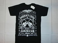 Johnny Cash American Rebel T-shirt S M L Xl 2xl Blues Country Rock Men Black