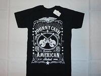 Johnny Cash American Rebel T-shirt S M L Xl 2xl Blues Country Rock Men Black