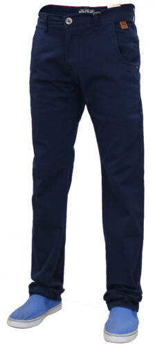 Jacksouth Mens Chino Jeans Regular Fit Cotton Rich Stretchable Trousers Pants