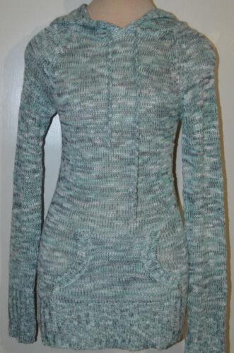 Women/'s Rue 21 Mint Green Blend Long Sleeve Hoodie Sweater Top Sizes S XL M L