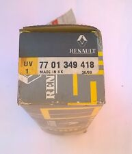 Renault 7701349418 Wiper switch to fit 9, 11, 20, 30, Espace-Express NOS