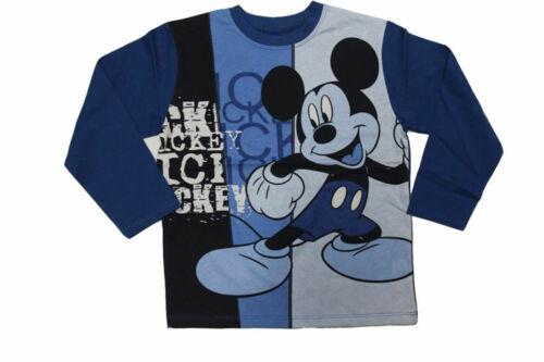 Kinder Langarm T-Shirt Gr.98 104 116 128 Mickey Maus Mouse Donald Duck Disney