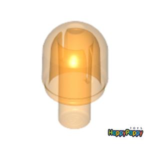 Lego 8x Lichtkappe Leuchte Einsatzlicht Transparent Orange Cover 58176 Neu New