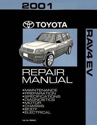 1997 Toyota Rav4 Shop Service Repair Manual Book Engine Drivetrain OEM