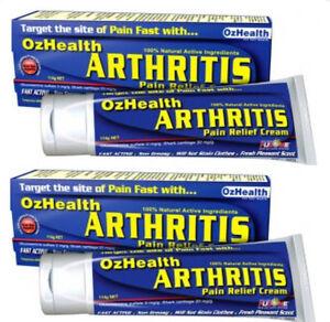 Image is loading 2-x-114g-OzHealth-Arthritis-Pain-Relief-Cream-