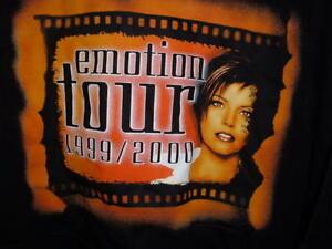 NEW-vintage-XXL-MARTINA-MCBRIDE-T-SHIRTS-1999-EMOTION-TOUR-54-034-CHEST