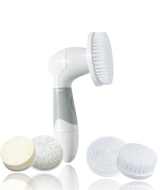 Waterproof & Most Durable Bath Spa Body  & Facial  Cleansing Brush System