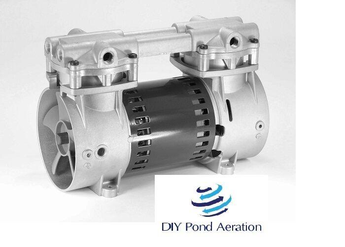 """2 cfm 18+/""""Hg Vacuum Veneer Piston Compressor pump Thomas 2505 not for Aeration!"""