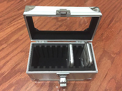 ALUMINUM COIN SAFE CASE DISPLAY BOX 50 SLAB PCGS NGC ANACS CERTIFIED GRADED