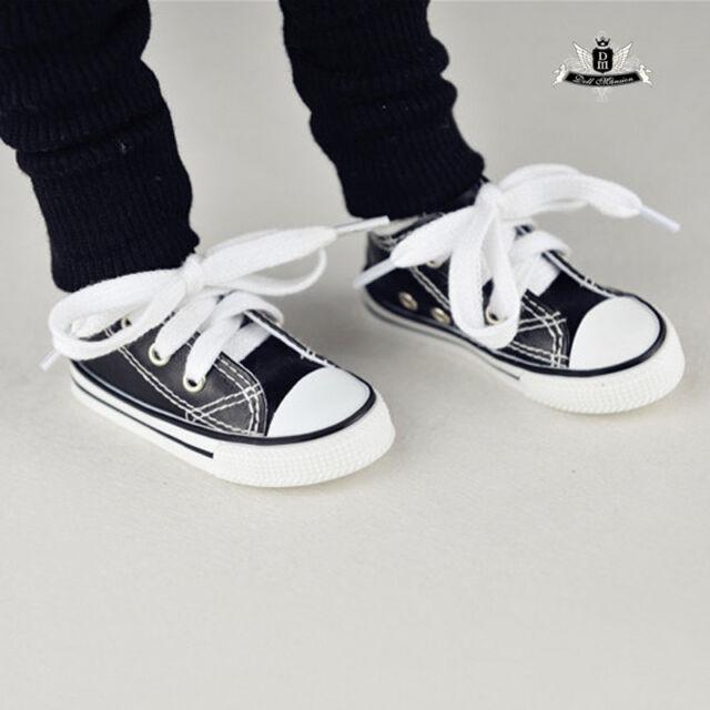 1/3 BJD Shoes SD13 Sneaker Dollfie DREAM MID black Shoes EID AOD DOD Dollmore DZ