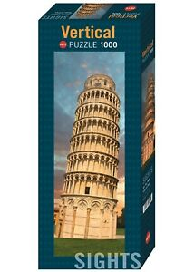 SIGHTS : TOWER OF PISA - Heye Vertical Puzzle 29604 - 1000 Teile Pcs.