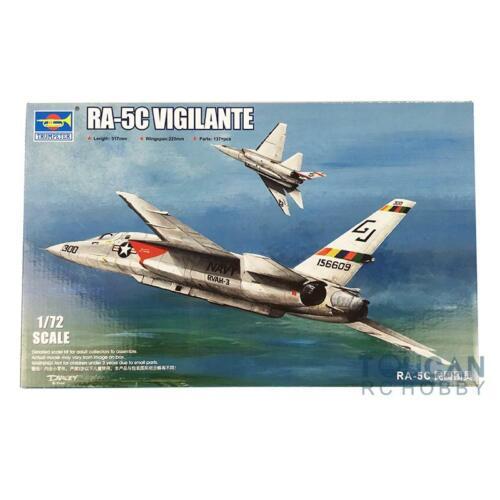 Trumpeter 01616 1//72 American RA-5C Vigilante Reconnaissance Aircraft Model
