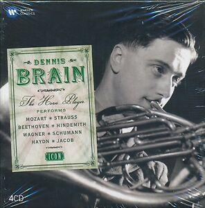 Dennis-Brain-The-Horn-Player-CD-NEW-Mozart-Strauss-Beethoven
