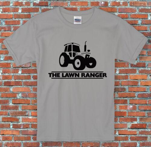"/""Lawn Ranger/"" Tractor Gardening Gift Funny Slogan Shirt S to 2XL"