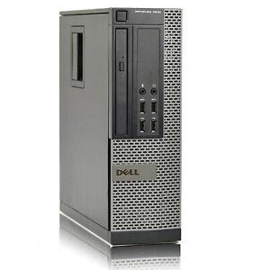 Pc Computer Ricondizionato Dell 7010 SFF Core i5-3470 Ram 8Gb SSD 480Gb Win 10