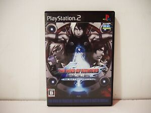 King of Fighters 2002 Unlimited Match Tougeki Sony Playstation 2 PS2 Jap NTSC