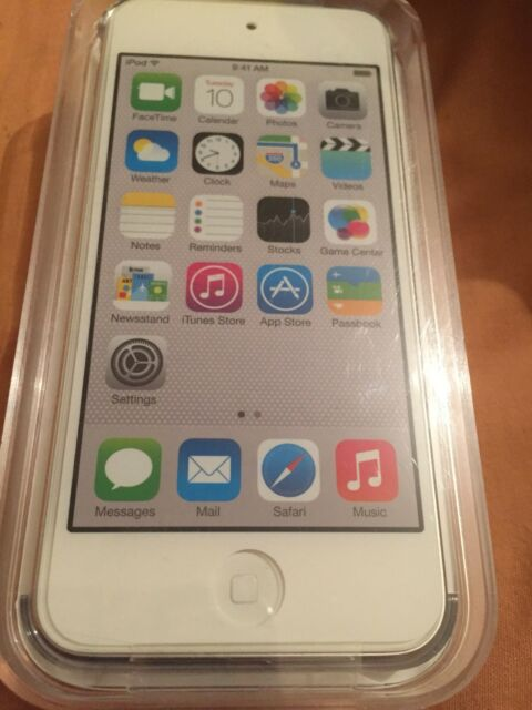 Apple Ipod Touch 32gb 5th Generation White/silver MD720BT/A New Seald Warranty