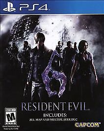 Resident-Evil-6-PS4-Brand-New-Factory-Sealed