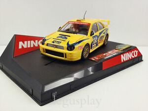 "Stable Scx Scalextric Slot Ninco 50257 Subaru Wrc ""catalunya Costa Brava 2002"" Ltd. Ed."