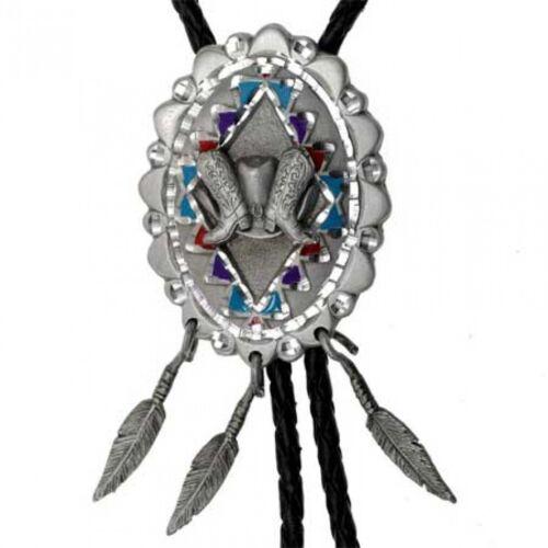 Bolotie Dreamcatcher Western Cowboy Krawatte Indianer Bolo Tie
