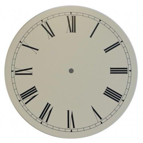 Neu Altweiß Antik Oberfläche Uhr Ziffernblatt 10 Zoll 254mm Römische Ziffern