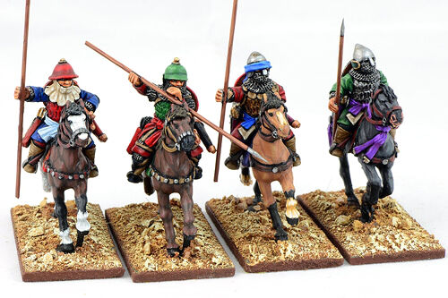 Gripping Beast - SAGA - Mounted Ghulams (hearthguards) - 28mm