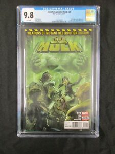 Totally Awesome Hulk #22  1st Weapon H  Sold Out 2nd Print   CGC 9.8