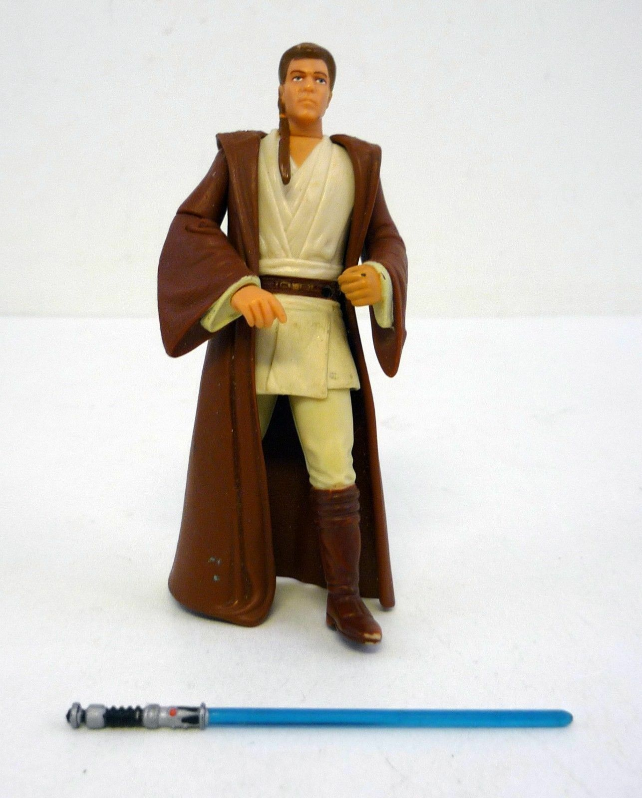 Figurine StarWars : Star Wars Obi-Wan Kenobi Épisode I Action Figurine Presque Complet 1999