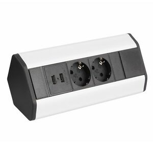 USB Enchufe Interruptor para muebles cocina Base de SUPERFICIE ...