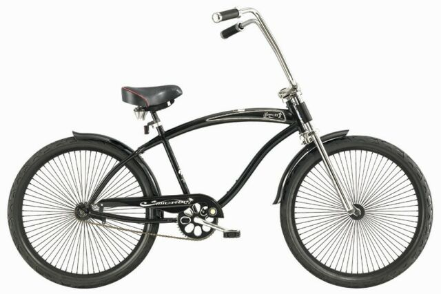 "Micargi 26/"" Huntington Men beach cruiser Oversize bicycle bike Matte Black"