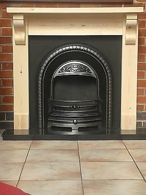 Fire Surround With Corbels With 45mm Chunky Top  /   Plus Made To Measure wooden