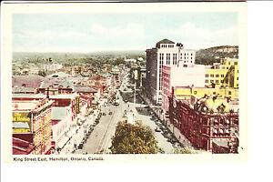Hamilton Ontario Bird S Eye View Of King Street East 1930s Ebay