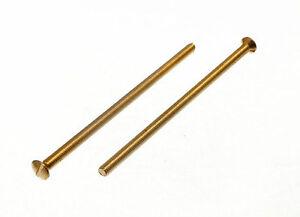 PK-OF-25-X-ELECTRIC-SOCKET-SCREW-LONG-BRASS-EB-M3-5-x-50MM