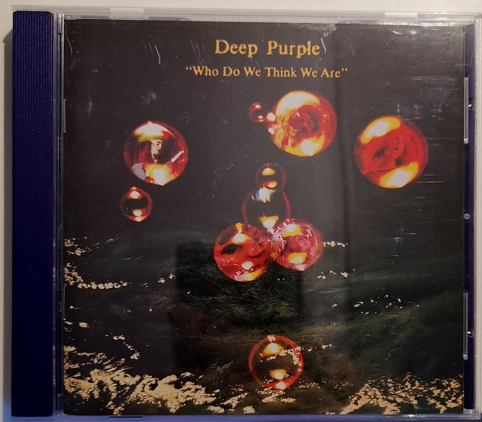 DEEP PURPLE: Who Do We Think We Are, rock
