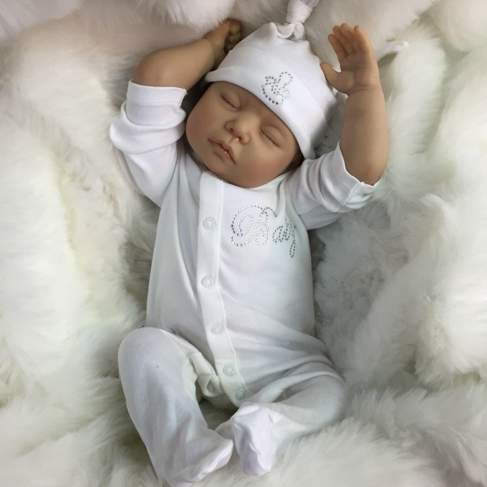 "THERAPY ALZHEIMERS DEMENTIA ADULT REBORN DOLL BABY CODY REALISTIC 22"" NEWBORN UK"