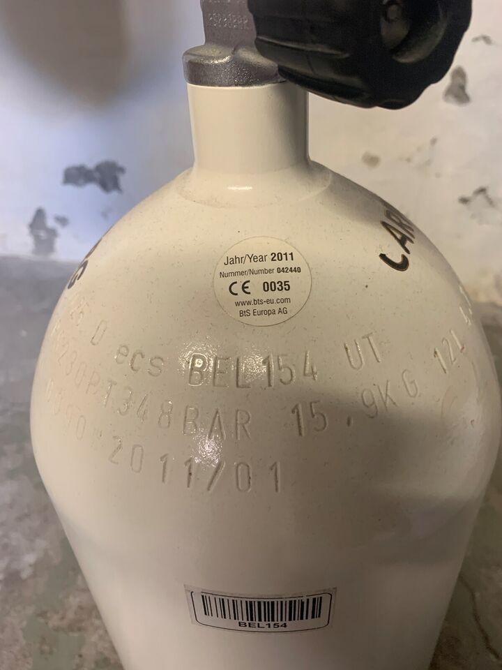 Dykkerflaske 12l - NY PRIS
