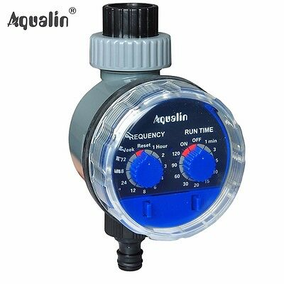 Ball Valve Automatic Electronic Hose Water Timer Garden Irrigation Controller