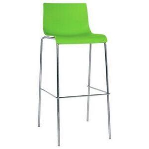 Taburete-para-interior-de-acero-inoxidable-y-polipropileno-verde-RS8939
