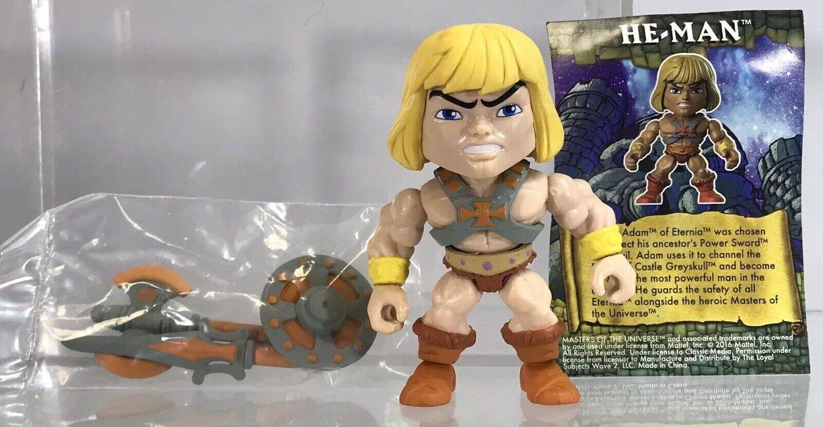 Lojala objekt Masters of the Universe He-Man Figur Classic Walmkonst variant
